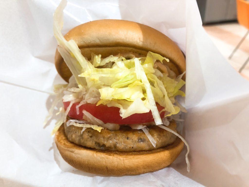 モスバーガーの「ソイモス野菜バーガー」