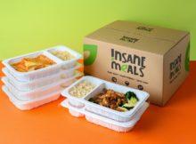 シンガポールInsane Meals社のVegan mealデリバリー